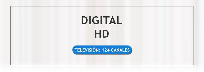 + 25 señales digitales en HD